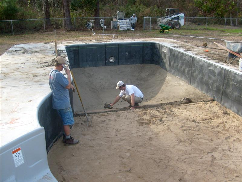 pool builders colleyville