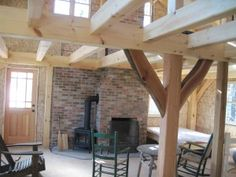Charnwood timber frame